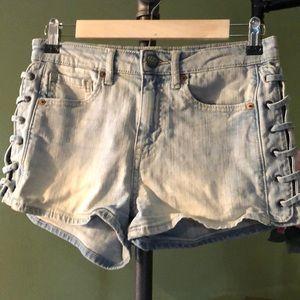 Tokyo Darling Denim Shorts Size 4